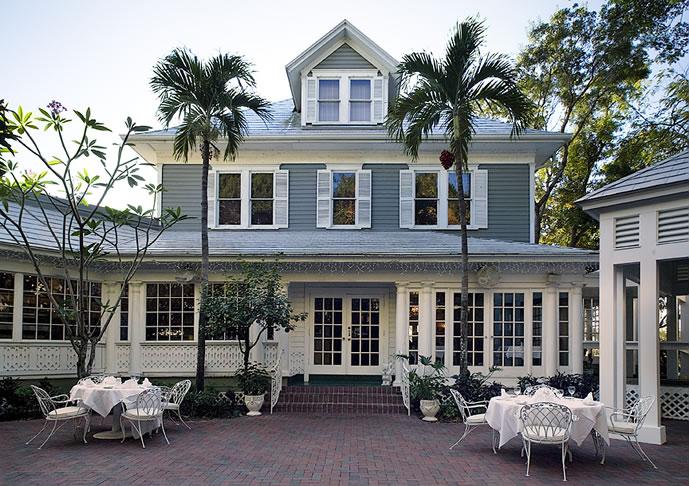 Veranda Restaurant Courtyard