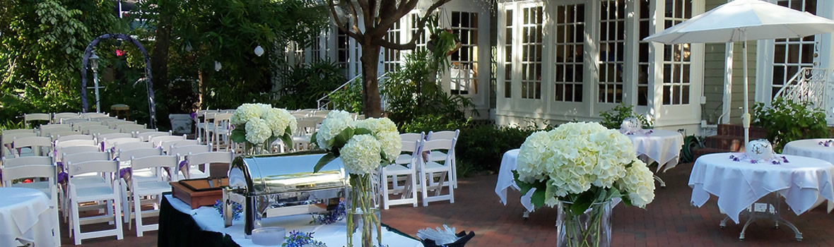 Parties and Weddings at The Veranda Restaurant